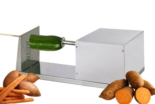 Electric Potato Slicer ~ Potato slicer options make your spuds into fancy fries