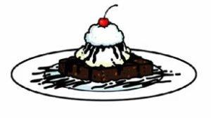 Waffled Brownie Sundae