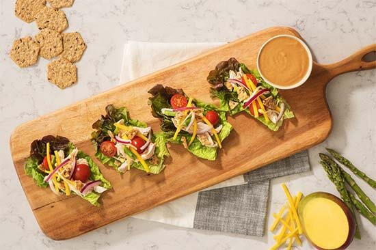 Asparagus-and-Mango-Lettuce-Wraps