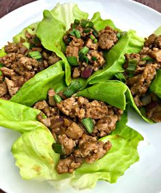 Keto Chicken Lettuce Wrap