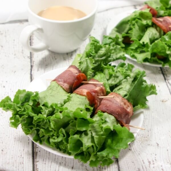 Perfect Paleo BLT Breakfast Wraps