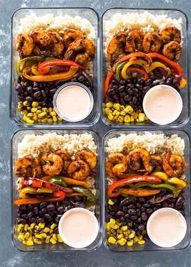 Shrimp-Burrito-Bowls