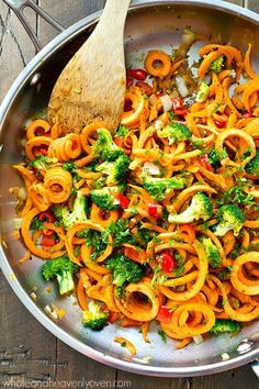 Sweet Potato Noodle Stir Fry