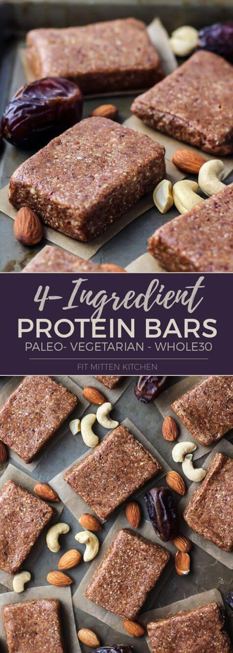 Home made whole30 protein bar