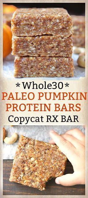 Whole30 Pumpkin Protein bar