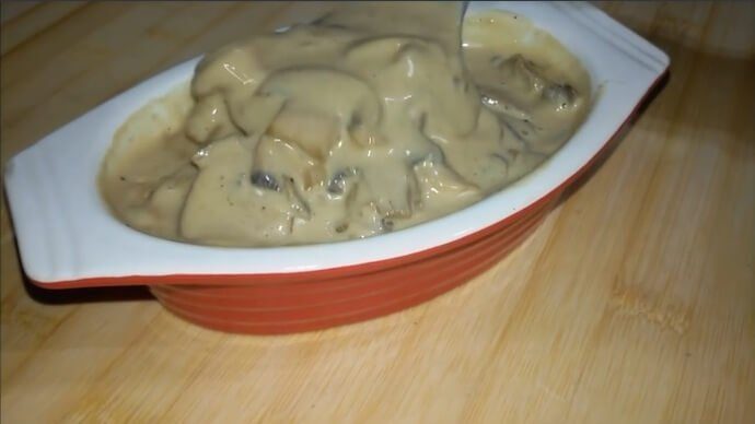 Creamy Mushroom Sauce For Pasta, Steak and More
