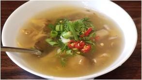 Oyster Mushroom Lemongrass Soup