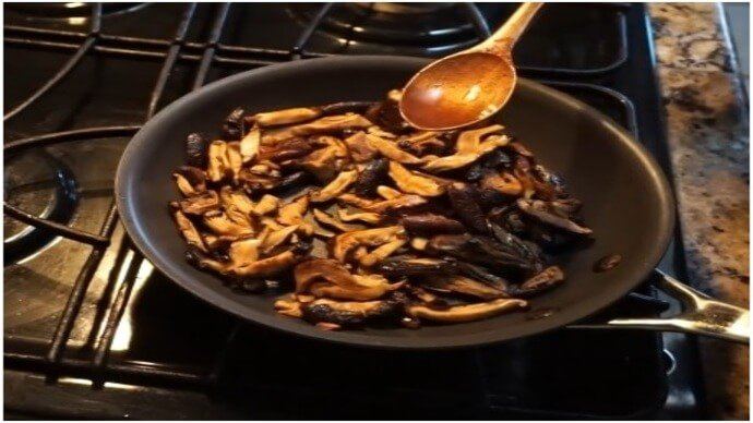 Stir-Fried Shiitake Mushroom – The Vegan Way