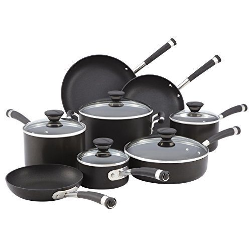 Acclaim Hard-Anodized Nonstick 13-Piece Cookware Set