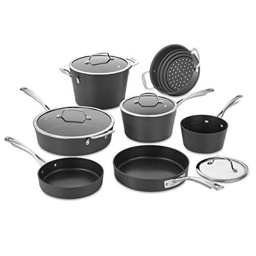 Cuisinart 62I-11 Conical Hard Anodized Cookware Set