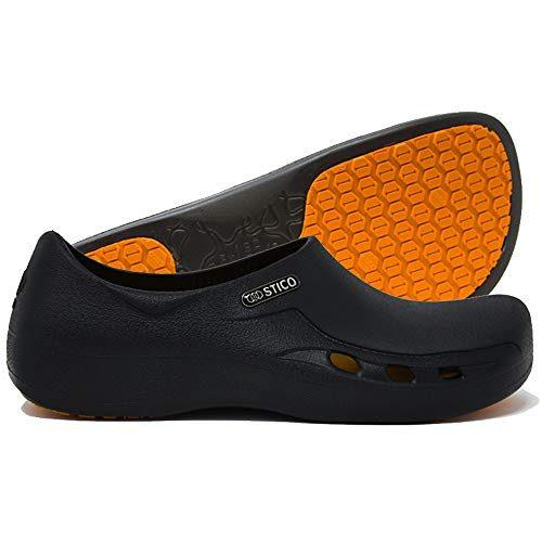 STICO Chef Kitchen Slip Resistant Safety Men's Shoes Clog