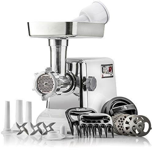 The Powerful STX Turboforce Classic 3000 Series Electric Meat Grinder & Sausage Stuffer