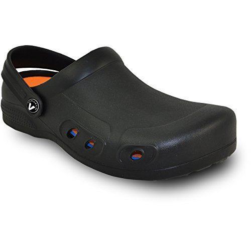 VANGELO Professional Slip Resistant Clog Unisex Work Shoe